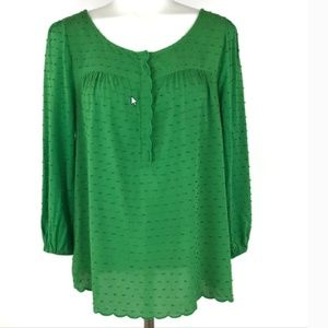 Anthropologie Maeve Size 10 Blouse